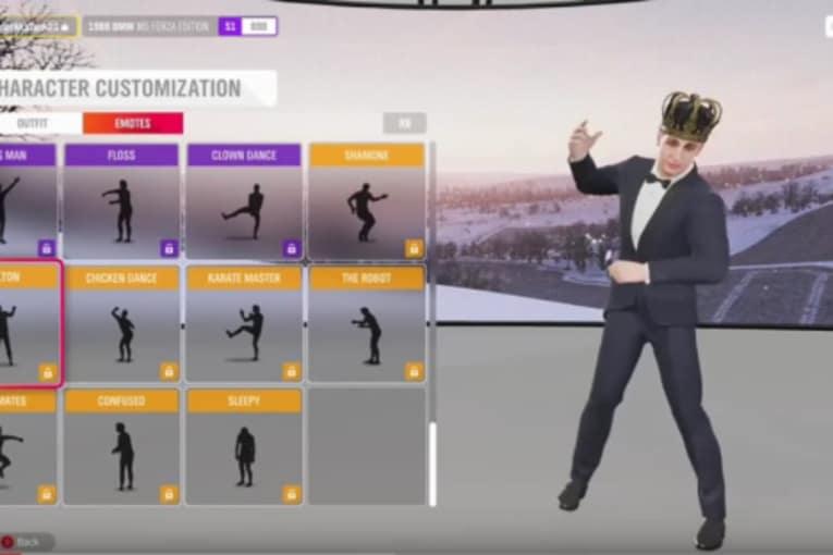 Forza Horizon 4 har tagit bort Carlton- och Floss-danserna