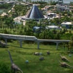 Planet Coaster-studion tar sig an Jurassic Park