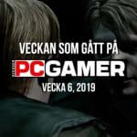 Veckan som gått på PC Gamer (v. 6, 2019)