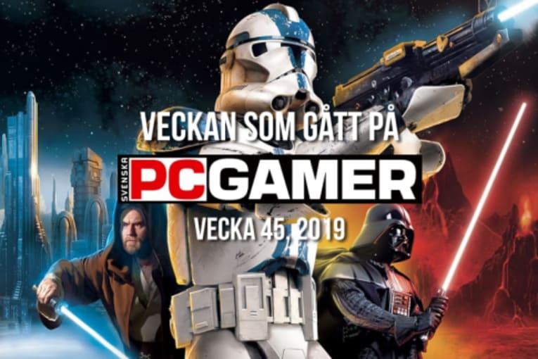 Veckan som gått på PC Gamer (v. 45, 2019)