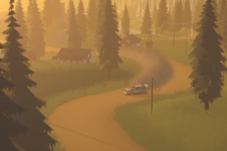 Art of Rally är ett stiliserat rallyspel, kolla in första trailern!