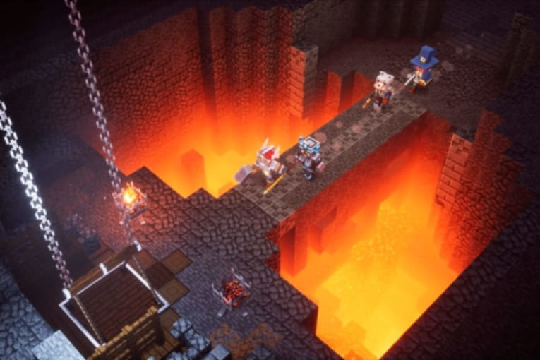 Minecraft Dungeons försenas, men bara lite grann