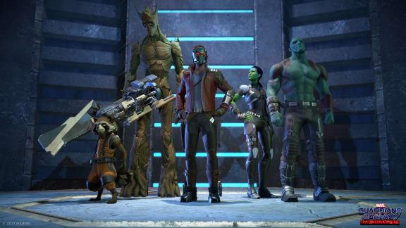 Här är lanseringstrailern för den första Guardians of the Galaxy-episoden