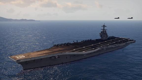Varsågod, här är ett hangarfartyg