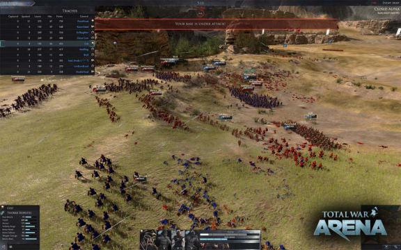 Total War: Arena stängs ner den 22 februari