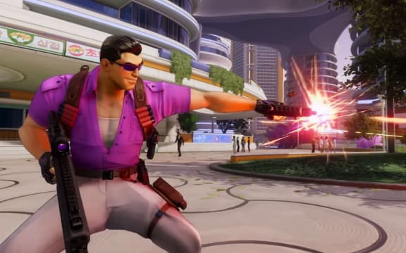 Johnny Gat är en förköpsbonus i Agents of Mayhem