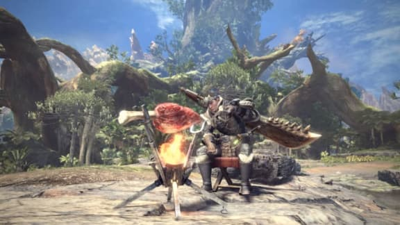Monster Hunter: World siktar på 30 fps på konsol