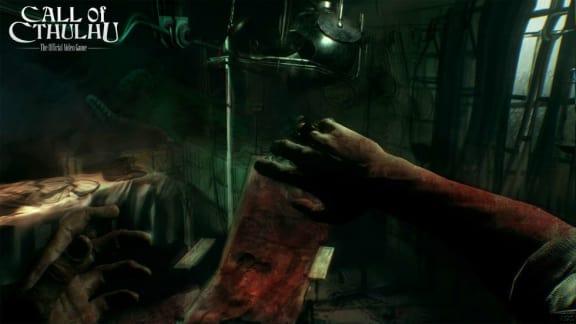 Här är de första spelsekvenserna från Call of Cthulhu