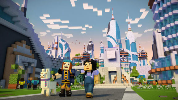 Här är lanseringstrailern för den andra säsongen av Mincecraft: Story Mode