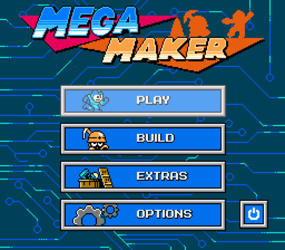 Gör egna Mega Man-banor i Mega Maker!