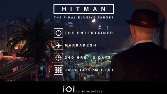 Hitmans sista Elusive Target släpps imorgon