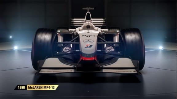 Här är alla retrobilar i F1 2017