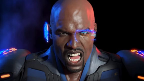 Här är Terry Crews i Crackdown 3
