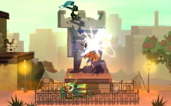 Ett Smash Bros med indiekaraktärer!