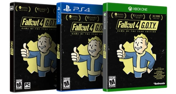 Fallout 4 får en GOTY-utgåva