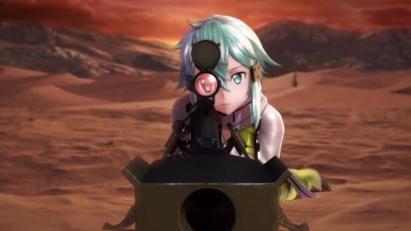 Projekt 1514 visade sig vara animespelet Sword Art Online: Fatal Bullet