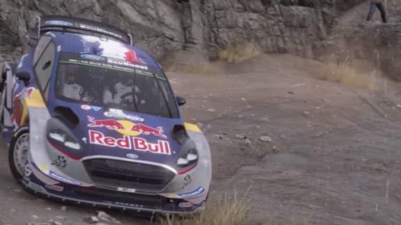 Med en Ford Fiesta runt hela världen i WRC 7