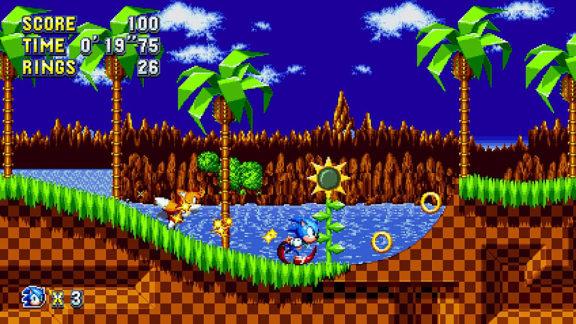 Sonic Mania kräver en internetuppkoppling