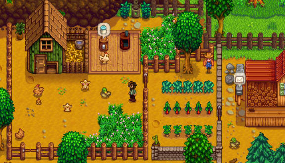 Stardew Valley har fått multiplayer nu!