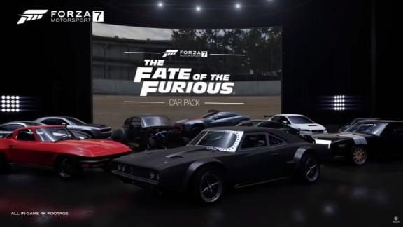 Bilarna från Fate of the Furious kommer till Forza Motorsport 7