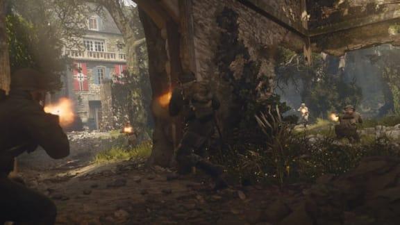Här är ett gäng nya live action-trailers för Call of Duty: WWII