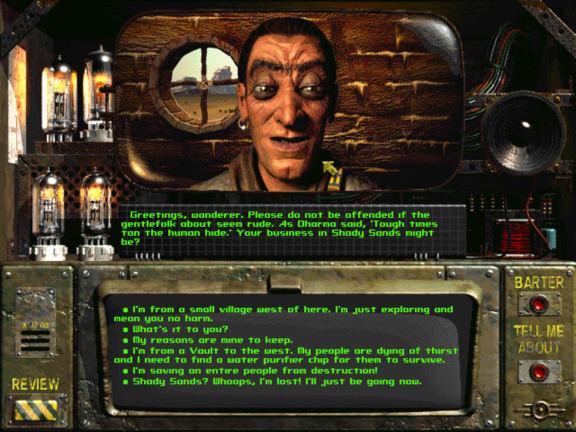 Det ursprungliga Fallout är gratis!