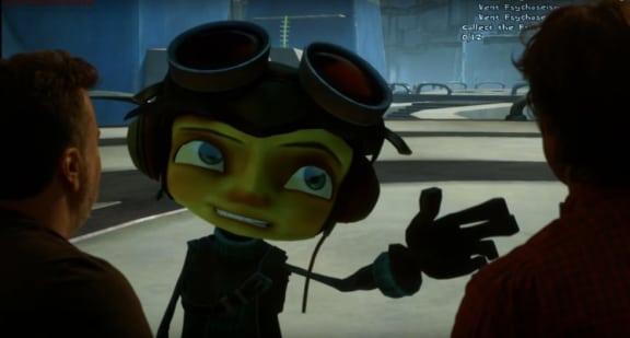 Här är de första spelsekvenserna från Psychonauts 2!
