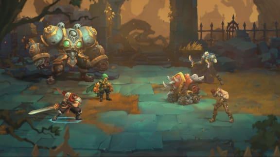 Kolla in det fantastiska introt för Battle Chasers: Nightwar