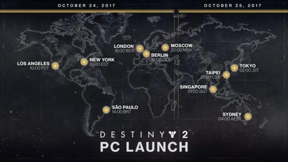 Här är de officiella systemkraven för Destiny 2
