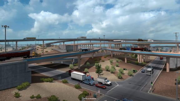 New Mexico är på väg till American Truck Simulator