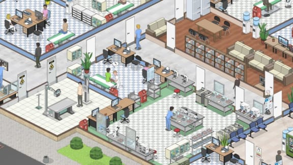 Two Point Hospital får het konkurrens, Project Hospital har släppts på Steam!