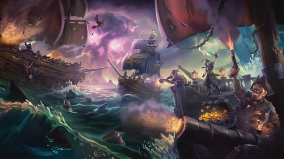 Sea of Thieves-uppdateringen Cursed Sails är ute nu