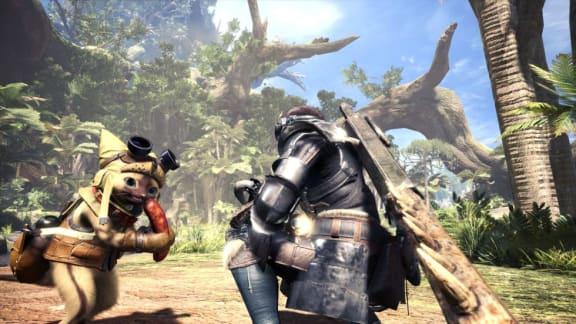 Ny gameplayvideo visar upp mysiga miljöer i Monster Hunter World