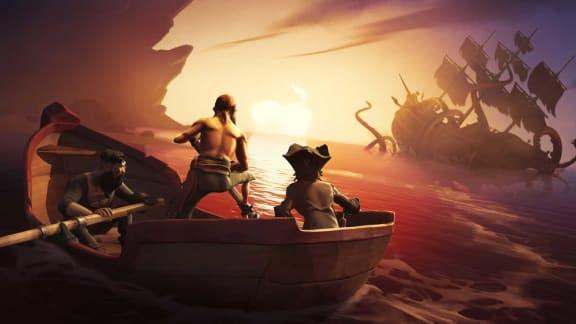 Ny Sea of Thieves-video handlar om miljöerna och den grafiska stilen