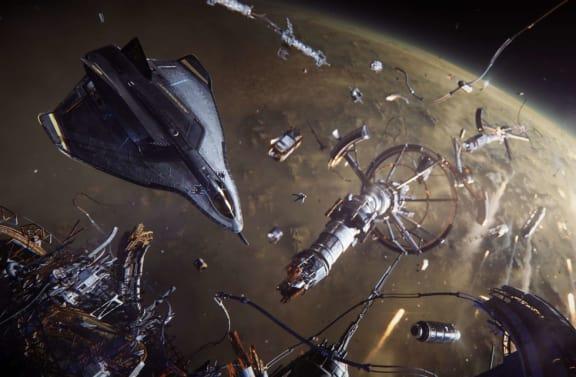 Tomten var här och lämnade en timme gameplay från Squadron 42.