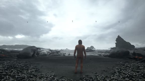Sony tycker att arbetet med Death Stranding går jättesnabbt