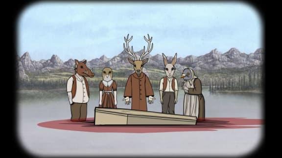 Ruggiga äventyret Rusty Lake Paradise visas upp i ny trailer