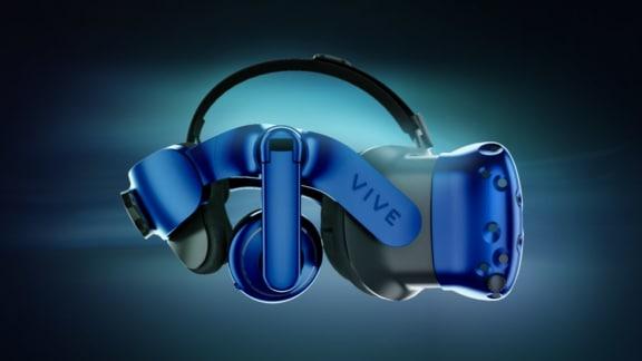 Säg hej till det nya VR-headsetet Vive Pro!