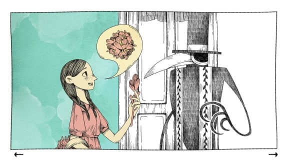 A Raven Monologue är experimentellt, kort, skitfint och gratis