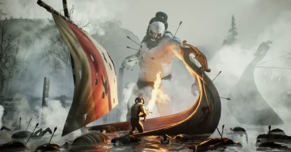 Här är en ny trailer för Rune: Ragnarok!