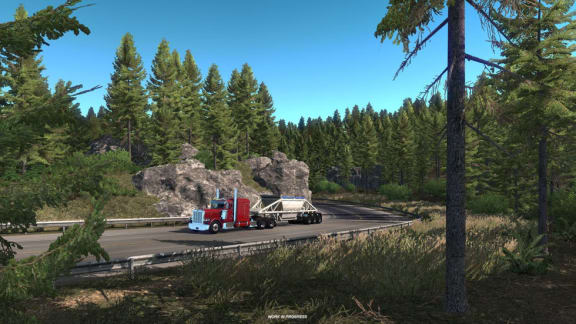 Kolla in den fantastiska lanseringstrailern för American Truck Simulators Oregon-expansion!