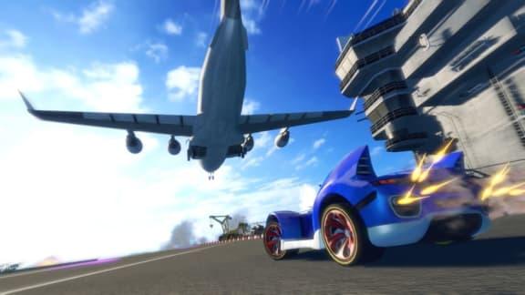 Sega teasar ny kartracer med Sonic