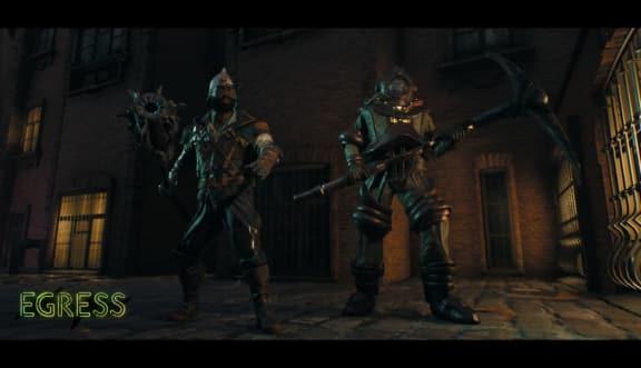 Egress är battle royale med Dark Souls-doftande strider