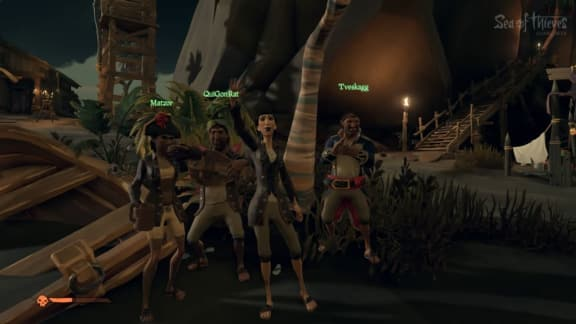 Rare presenterar spelarkaraktärerna i Sea of Thieves