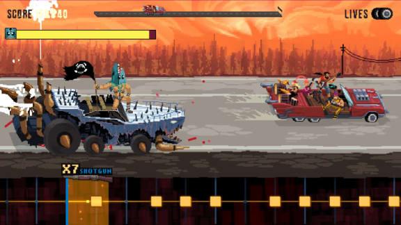 Om Mad Max vore ett rytmspel