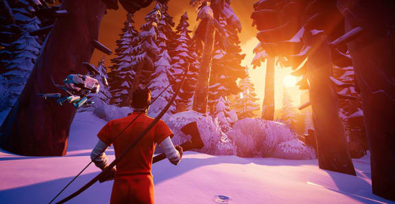 Snöiga battle royale-spelet Darwin Project är ute i early access nu