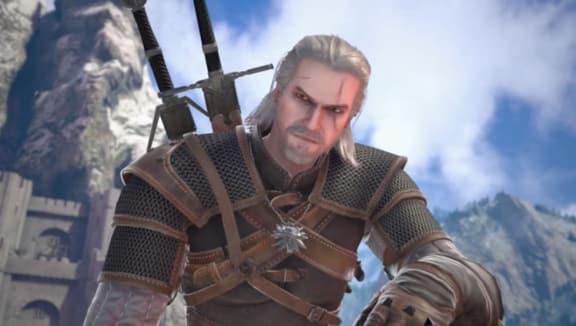 En ny titt på Geralt i Soul Calibur VI