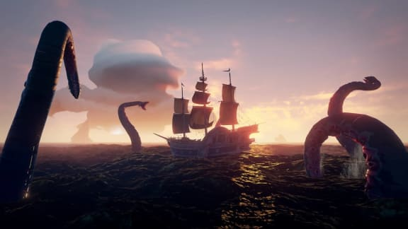 Sea of Thieves släpps idag, så här är två nya trailers!