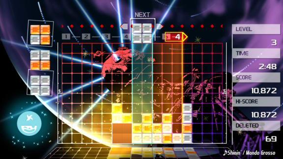 Här är lanseringstrailern för Lumines Remastered