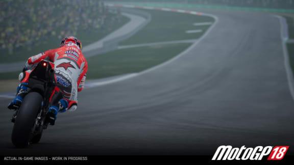 Här är premiärtrailern för Moto GP 18